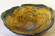 Offering Bowl Amber Colour